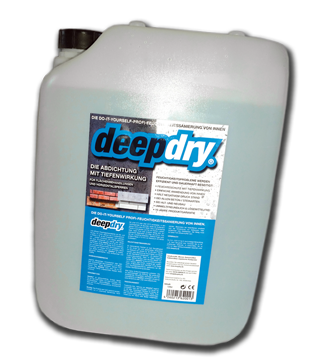 deepdry 20 liter 23 00 l feuchte w nde nasser keller. Black Bedroom Furniture Sets. Home Design Ideas